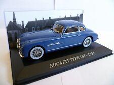 BUGATTI TYPE 101 - 1951 en boite vitrine  échelle 1/43 ème