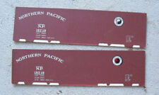 Vintage Oo Scale Boxcar Cardboard Side Panels Northern Pacific