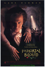 IMMORTAL BELOVED MOVIE POSTER 27x40 SS GLOSSY Gary Oldman as BEETHOVEN