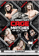 WWE The Greatest Cage Matches Of All Time 3x DVD DEUTSCHE VERKAUFSVERSION