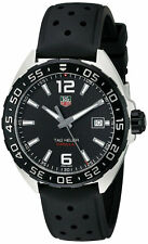 Tag Heuer Formula 1 Black Dial Black Rubber Band Men Steel Watch WAZ1110.FT8023