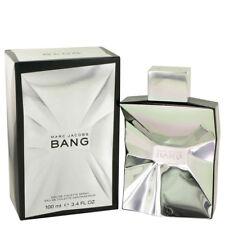 Marc Jacobs BANG 100ml/ 3.4oz EDT Spray Sealed Box Discontinued Genuine Perfume