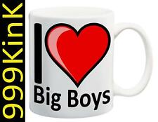 2232 I Love Heart BIG BOYS cup mug SECRET santa christmas Sex gift toy fetish
