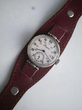 Longines military silver russian 84 men's mechanical 11.84N vintage wrist watch