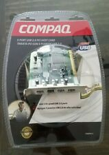 NEW RETAIL CPQ5PHC-5 Compaq 5 port (4 int. 1 ext.) USB 2.0 PCI Host Card UC-160