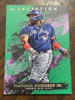 VLADIMIR GUERRERO JR #58 Toronto Blue Jays 2021 Topps Inception Baseball Green