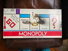 Vintage Parker Brothers MONOPOLY Game No. 9