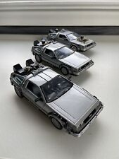 New ListingBack To The Future Delorean Time Machine Trilogy Diecast Set