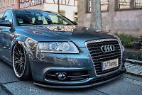 Spoilerschwert Frontspoiler Cuplippe ABS Audi A6 4F S-Line Facelift mit ABE