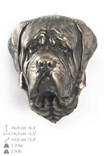 English Mastiff, dog statuette to hang on the wall, Art Dog Limited Edition, Usa