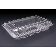100x Plastic Disposable Lunch Container Sushi Roll Box Take away