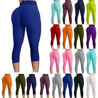 Women's Plus Size High Waist Leggings Long Stretchy Pants Full Length Yoga 2X 3X