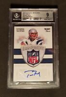 Tom Brady 1/1 Signature Shield NFL Patch, 2010 National Treasures 1of1 Autograph