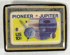 ART STUFF-Stamp Pins-PIONEER JUPITER-NASA Mission Space Astronomy  Solar System