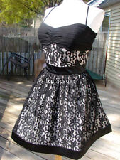 NWT BETSEY JOHNSON EMBROIDERED FLORAL LACE DRESS~8 $398 **SALE**