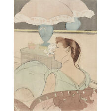 MARY CASSATT AMERICAN FITTING OLD ART PAINTING POSTER PRINT BB6147A