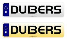 DU13 ERS Cherished Reg Number Plate DUB BUS VW TRANSPORTER GOLF R POLO T5 T6 GTI