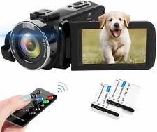 Video Camera 2.7K Camcorder 42MP 18X Digital Camera Video Camera for YouTube 3.0