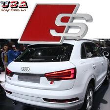 AUDI S Sport S-line 3D Auto Accessories S Emblem Badge For Audi A4 A6 A8 S4 S8