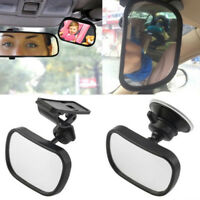 2 Site Car Baby Back Seat Rear View Mirror for Infant Child Toddler Safety TCES