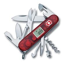 Victorinox Swiss Knife Traveller 91 mm 28 funсtions Transparent Red 1.3705.AVT