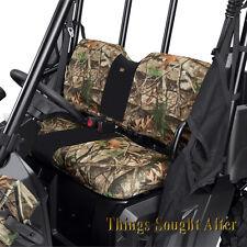 CAMO SEAT COVER for 2002-2008 POLARIS RANGER 2x4 4x4 6x6 EFI 500 700 XP CREW