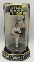 SEALED Princess Leia Organa Epic Force 360 Rotating Figure Star Wars Kenner