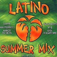Latino Summer Mix (by S.W.G., 2000) Loona, Gigi D'Agostino, Eiffel 65, An.. [CD]