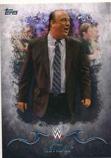 #25 PAUL HEYMAN 2016 Topps WWE Undisputed