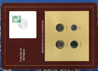 Coin Sets of All Nations Luxembourg wCard 1983-1989 50,5 Francs 1989 UNC 23.8.85