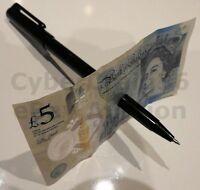 HIGH QUALITY BLACK PEN THRU BILL PENETRATE THROUGH NOTE MONEY MAGIC TRICK NEW