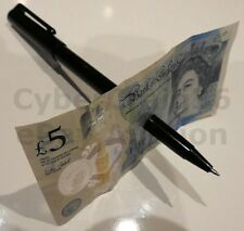 HIGH QUALITY BLACK PEN THRU BILL PENETRATE THROUGH NOTE MONEY MAGIC TRICK NEW
