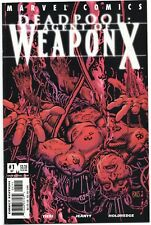 Deadpool Agent Of Weapon X 1 57 Marvel 2001 Nm Wolverine Barry Windsor Smith