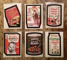 1974 Topps Wacky Packages Series 7 Complete 33 Card Set