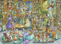 Ravensburger Midnight at the Library 1000 Piece Puzzle - Brand New - Ships Fast