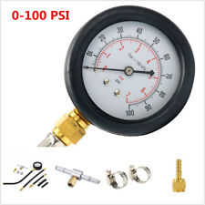 Universal Car 0-100PSI Fuel Injection Pump Pressure Injector Test Pressure Gauge