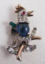 ADORABLE TRIFARI ALFRED PHILIPPE JELLY BELLY BIRD PIN #1