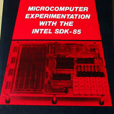 1980 INTEL SDK-85 MCS-85 8085 Microcomputer Interfacing Book 400pgs