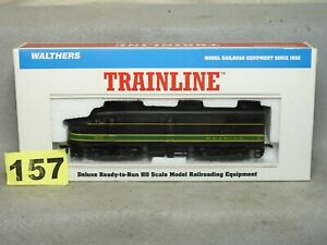 WALTHERS HO SCALE #931-216 READING ALCO FA-1 DIESEL LOCOMOTIVE EX. READY TO RUN