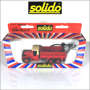 SOLIDO 3110 Toner Gam II - Camion de pompiers GMC CCKW 353 6x6  - Fire