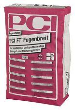 PCI FT Fugenbreit 5 kg zementgrau Fugen-Mörtel Fliesen Riemchen Klinker Fassade