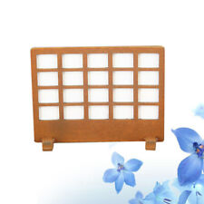 1PC Wooden Simple Lovely Partition Screen for Living Room Doll House DIY Bedroom