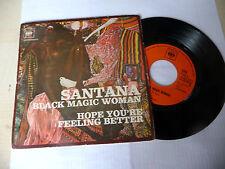 "SANTANA"" BLACK MAGIC WOMAN- disco 45 giri CBS Italy 1970"""