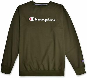 Champion Sweatshirt Mens Big And Tall Logo Sweater Champion Crewneck Sweatshirt