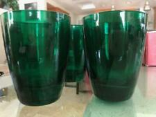 Four Holiday Gems Lenox Emerald Christmas Old Fashion Glasses - Made in Italy!