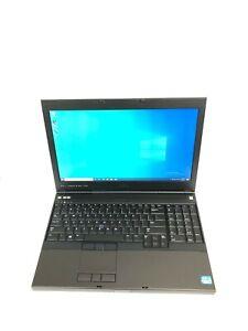 """Dell Precision M4700 15.6"""" Core i7 3840QM 2.80GHZ 16GB RAM 512GB SSD Win 10 Pro"""