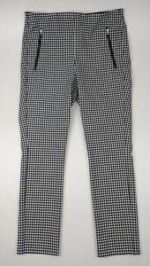 Rag & Bone White & Black Simone Gingham Check Trousers Pants Size 12 - BNWT