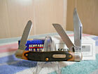 VINTAGE SCHRADE USA 8OT OLD TIMER SENIOR STOCKMAN POCKET KNIFE NIB WITH PAPERS