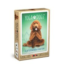 Playing Cards Yoga Dogs