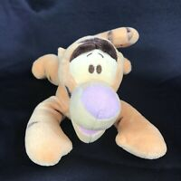 """Disney Baby - Whinny The Pooh - Tigger Soft 11"""" Plush Rattle Toy Stuffed Animal"""